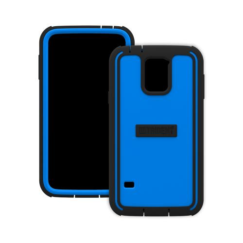 Trident Cyclops Galaxy S5 Case | [Blue] Cyclops Series Rugged Fused Polycarbonate & Thermo Poly Elastomer (Super TOUGH!!) Dual Material Hybrid Case w/ Built-in Screen Protector for Samsung Galaxy S5 | Great Alternative to Otterbox!