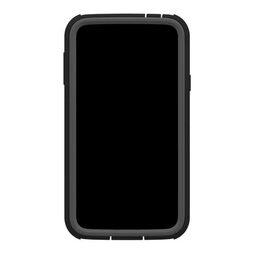 Galaxy S5 Hybrid Case by Trident | [Gray] Cyclops Series Rugged Fused Polycarbonate & Thermo Poly Elastomer Hybrid Case W/ Built-in Screen Protector