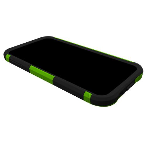 Trident Aegis Galaxy S5 Case | [Lime Green] Aegis Series Slim & Rugged Hard Cover over Silicone Skin Dual Layer Hybrid Case w/ Screen Protector for Samsung Galaxy S5 | Great Alternative to Otterbox!