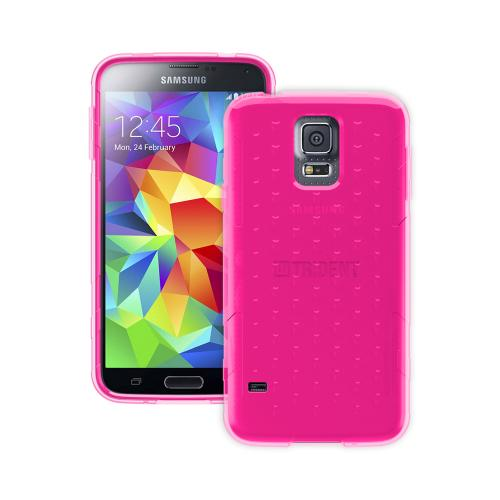 Trident Perseus Galaxy S5 Case | [Hot Pink] Perseus Series Ultra Slim & Flexible Crystal Silicone TPU Skin Cover Case w/ Screen Protector for Samsung Galaxy S5 | Super Slim & Impact-Resistant!