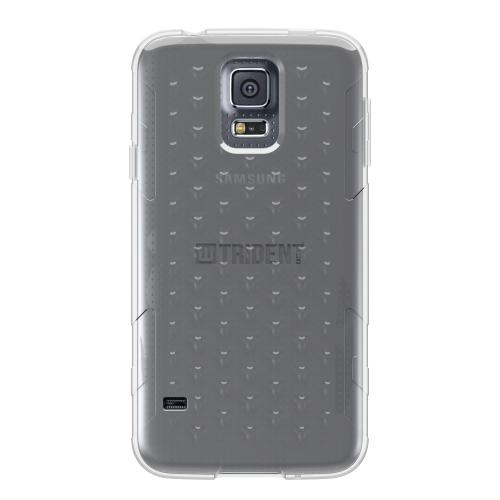 Galaxy S5 TPU Case by Trident | [Smoke] Perseus Series Ultra Slim & Flexible Crystal Silicone TPU Skin Cover Case W/ Screen Protector