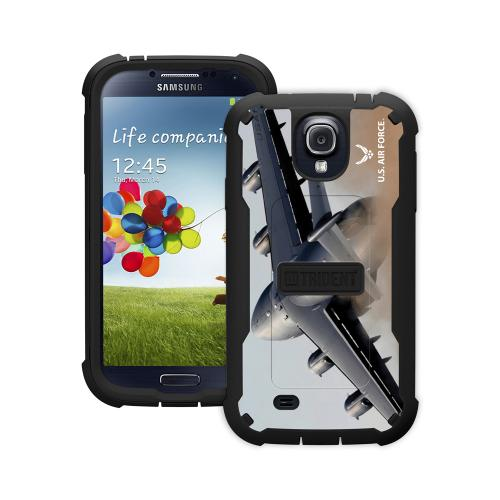 Trident U.s. Air Force Military Cyclops Series Thermo Poly Elastomer (super Tough) Hard Case W/ Built-in Screen Protector For Samsung Galaxy S4