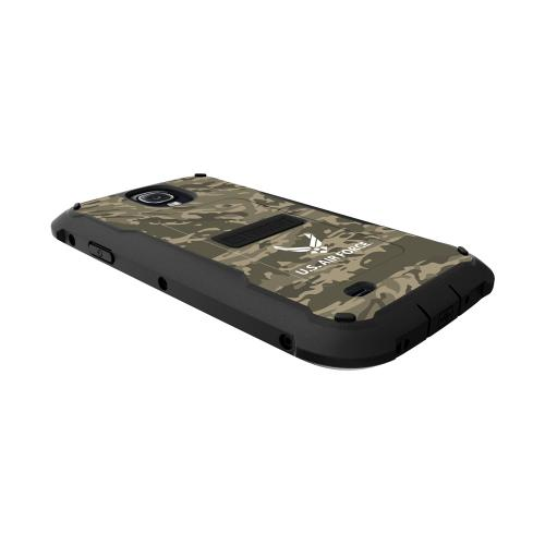 Trident U.s. Air Force Military Cyclops Series Green Camo Thermo Poly Elastomer (super Tough) Hard Case W/ Built-in Screen Protector