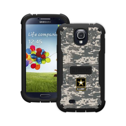 Trident U.s. Army Military Cyclops Series Gray Digital Camo Thermo Poly Elastomer (super Tough) Hard Case W/ Built-in Screen Protector