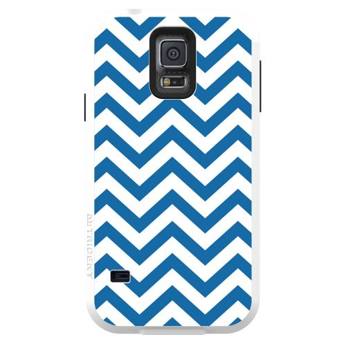 Trident Aegis Galaxy S5 Case | [Blue] Aegis Series Slim & Rugged Hard Cover over Silicone Skin Dual Layer Hybrid Case w/ Screen Protector for Samsung Galaxy S5 | Great Alternative to Otterbox!