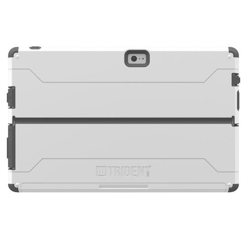 Surface 2 Hybrid Case by Trident [gray] Cyclops Series Featuring Rugged, Fused Polycarbonate & Thermo Poly Elastomer w/ Built-in Screen Protector