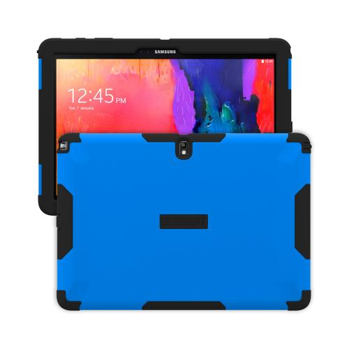 Trident Blue/ Black Samsung Galaxy Note Pro 12.2 Aegis Series Hard Cover Over Silicone Skin Case w/ Screen Protector {AG-SSNPRO-BL000} - Great Alternative to Otterbox!