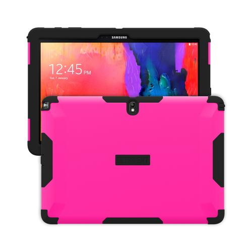 Trident Hot Pink/ Black Samsung Galaxy Note Pro 12.2 Aegis Series Hard Cover Over Silicone Skin Case w/ Screen Protector {AG-SSNPRO-PK000} - Great Alternative to Otterbox!