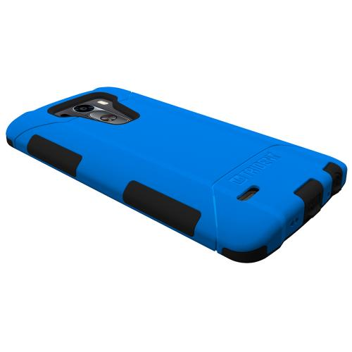 LG G3 Case, Trident [Blue] AEGIS Series Featuring Hardened Polycarbonate Over Silicone Skin Hybrid Case w/ Screen Protector