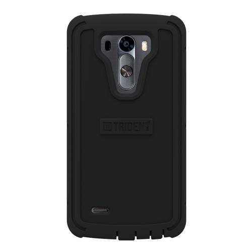 LG G3 Case, Trident [Black] CYCLOPS Series Featuring Fused Polycarbonate & Thermo Poly Elastomer Hybrid Case w/ Built-in Screen Protector