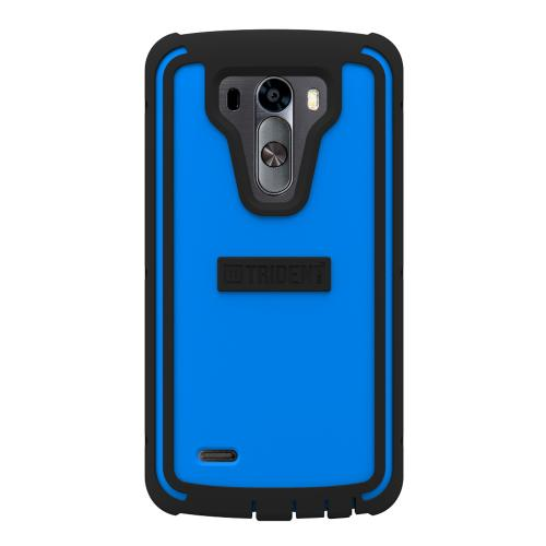 LG G3 Case, Trident [Blue/ Black] CYCLOPS Series Featuring Fused Polycarbonate & Thermo Poly Elastomer Hybrid Case w/ Built-in Screen Protector
