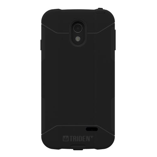 Lucid 3 Dual Layer Case by Trident [Black] Aegis Series Featuring Hardened Polycarbonate Over Silicone Skin Hybrid Case W/ Screen Protector