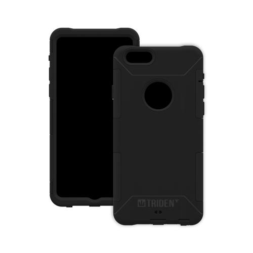 iPhone 6 Dual Layer Case by Trident [Black] Aegis Series Featuring Hardened Polycarbonate Over Silicone Skin Hybrid Case W/ Screen Protector