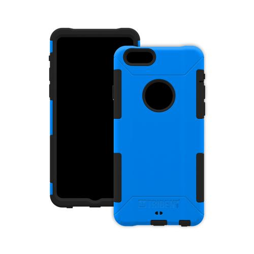Trident Aegis iPhone 6 (4.7 inch) Case | [Blue] Aegis Series Slim & Rugged Hard Cover over Silicone Skin Dual Layer Hybrid Case w/ Screen Protector Made for iPhone 6 (4.7 inch) | Great Alternative to Otterbox!