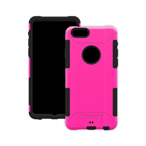 iPhone 6 Dual Layer Case by Trident [Hot Pink] Aegis Series Featuring Hardened Polycarbonate Over Silicone Skin Hybrid Case W/ Screen Protector