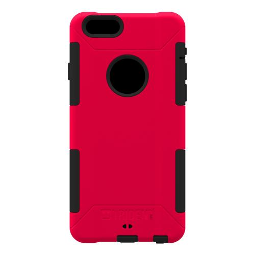 iPhone 6 Dual Layer Case by Trident [Red] Aegis Series Featuring Hardened Polycarbonate Over Silicone Skin Hybrid Case W/ Screen Protector