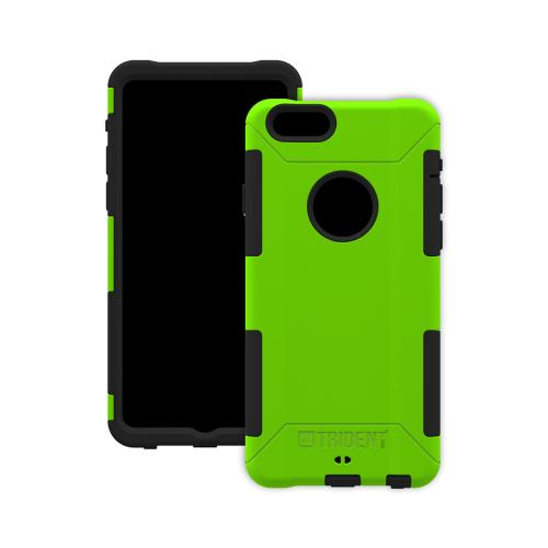 Trident Aegis iPhone 6 (4.7 inch) Case | [Lime Green] Aegis Series Slim & Rugged Hard Cover over Silicone Skin Dual Layer Hybrid Case w/ Screen Protector Made for iPhone 6 (4.7 inch) | Great Alternative to Otterbox!