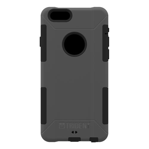 iPhone 6 Dual Layer Case by Trident [Gray] Aegis Series Featuring Hardened Polycarbonate Over Silicone Skin Hybrid Case W/ Screen Protector