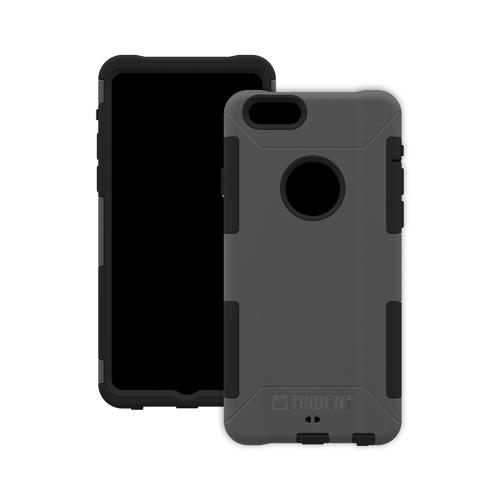 Trident Aegis iPhone 6 (4.7 inch) Case | [Gray] Aegis Series Slim & Rugged Hard Cover over Silicone Skin Dual Layer Hybrid Case w/ Screen Protector Made for iPhone 6 (4.7 inch) | Great Alternative to Otterbox!