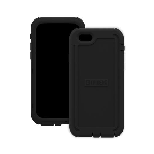 iPhone 6 Hybrid Case by Trident | [Black] Cyclops Rugged Fused Polycarbonate & Thermo Poly Elastomer Hybrid Case W/ Built-in Screen Protector