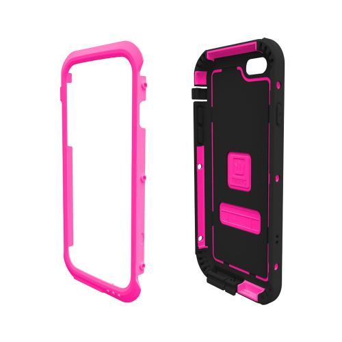 iPhone 6 Hybrid Case by Trident | [Hot Pink] Cyclops Rugged Fused Polycarbonate & Thermo Poly Elastomer Hybrid Case W/ Built-in Screen Protector