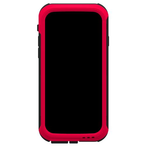 iPhone 6 Hybrid Case by Trident | [Red] Cyclops Featuring Fused Polycarbonate & Thermo Poly Elastomer Hybrid Case W/ Built-in Screen Protector