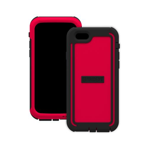 Trident Cyclops iPhone 6 (4.7 inch) Case | [Red] Cyclops Series Rugged Fused Polycarbonate & Thermo Poly Elastomer (Super TOUGH!!) Dual Material Hybrid Case w/ Built-in Screen Protector Made for iPhone 6 (4.7 inch) | Great Alternative to Otterbox!