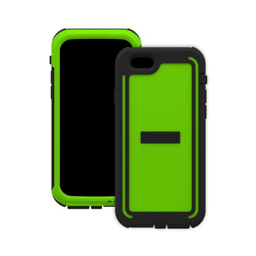 Trident Cyclops iPhone 6 (4.7 inch) Case | [Lime Green] Cyclops Series Rugged Fused Polycarbonate & Thermo Poly Elastomer (Super TOUGH!!) Dual Material Hybrid Case w/ Built-in Screen Protector Made for iPhone 6 (4.7 inch) | Great Alternative to Otterbox!