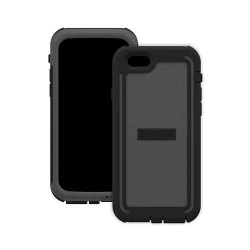 Trident Cyclops iPhone 6 (4.7 inch) Case | [Gray] Cyclops Series Rugged Fused Polycarbonate & Thermo Poly Elastomer (Super TOUGH!!) Dual Material Hybrid Case w/ Built-in Screen Protector Made for iPhone 6 (4.7 inch) | Great Alternative to Otterbox!