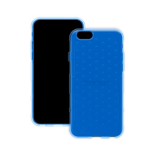 "Trident Blue Apple Iphone 6 (4.7"") Perseus Series Tpu Crystal Silicone Skin Case W/ Screen Protector - Conforms To Your Phone Without Stretching Out!"