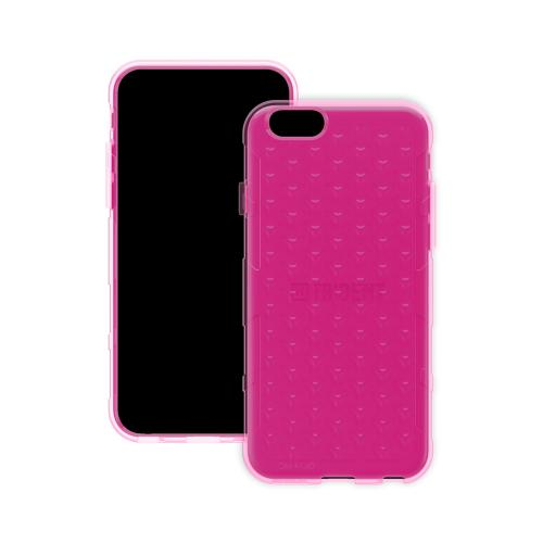 Apple iPhone 6/ 6S Case, Trident [Hot Pink] Perseus Series Slim & Flexible Anti-shock Crystal Silicone Protective TPU Gel Skin Case Cover w/ Screen Protector