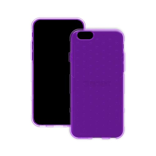 Apple iPhone 6/ 6S Case, Trident [Purple] Perseus Series Slim & Flexible Anti-shock Crystal Silicone Protective TPU Gel Skin Case Cover w/ Screen Protector