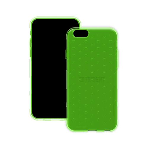 Trident [Lime Green] Perseus Series Ultra Slim & Flexible Crystal Silicone TPU Skin Cover Case w/ Screen Protector Made for iPhone 6 (4.7 inch) | Super Slim & Impact-Resistant!