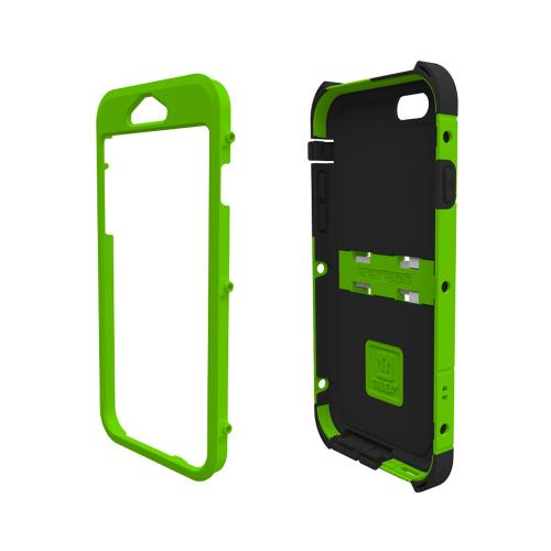 iPhone 6 Dual Layer Case by Trident | [Lime Green] Kraken AMS Rugged Polycarbonate On Silicone Dual Layer Hybrid Case w/ Built-in Screen Protector