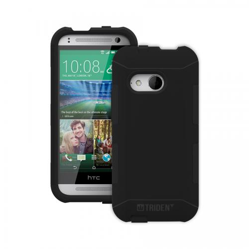 HTC One Remix Dual Layer Case by Trident [Black] Aegis Series Featuring Hardened Polycarbonate Over Silicone Skin Hybrid Case W/ Screen Protector