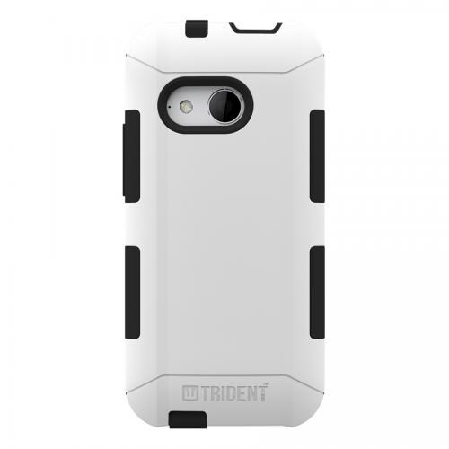 Trident White/ Black Htc One Remix Aegis Series Hard Case Over Silicone Skin Case W/ Screen Protector - Great Alternative To Otterbox!