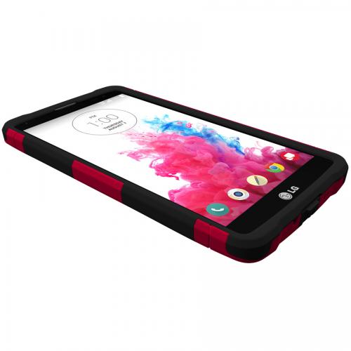 G Vista Dual Layer Case by Trident [Red] Aegis Series Featuring Hardened Polycarbonate Over Silicone Skin Hybrid Case W/ Screen Protector