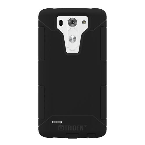 LG G3 Mini Dual Layer Case by Trident [Black] Aegis Series Featuring Hardened Polycarbonate Over Silicone Skin Hybrid Case W/ Screen Protector