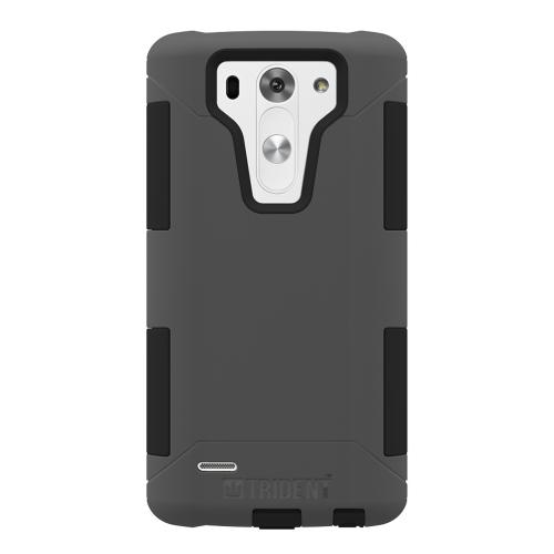 G3 Mini Dual Layer Case by Trident [Gray/Black] Aegis Series Featuring Slim & Rugged Hard Case Over Silicone Skin Hybrid Case W/ Screen Protector