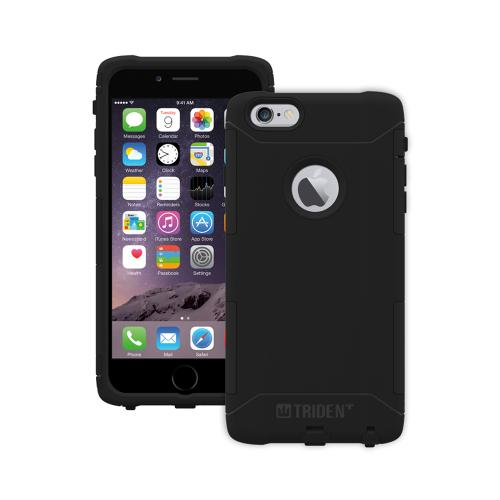Apple iPhone 6 PLUS/6S PLUS (5.5 inch) Dual Layer Case by Trident [Black] Aegis Series Featuring Hardened Polycarbonate Over Silicone Skin Hybrid Case W/ Screen Protector