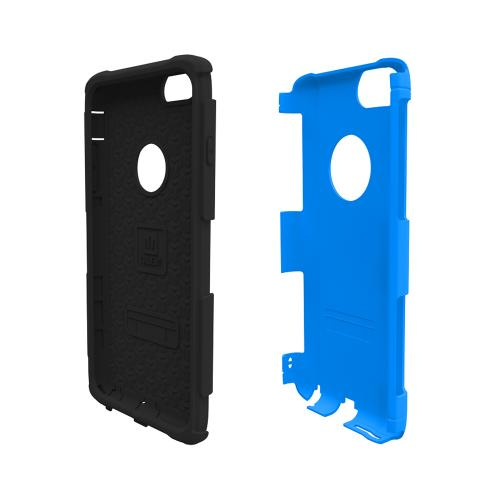 Apple iPhone 6 PLUS/6S PLUS (5.5 inch) Dual Layer Case by Trident [Blue/Black] Aegis Series Featuring Hardened Polycarbonate Over Silicone Skin Hybrid Case W/ Screen Protector
