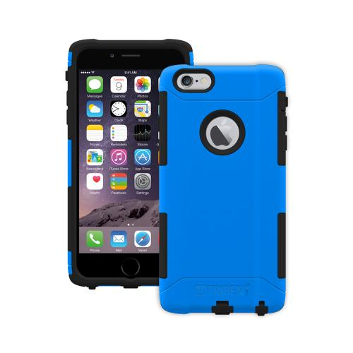 iPhone 6 Plus Dual Layer Case by Trident [Blue/Black] Aegis Series Featuring Hardened Polycarbonate Over Silicone Skin Hybrid Case W/ Screen Protector