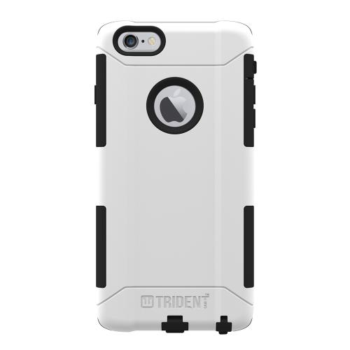 Apple iPhone 6 PLUS/6S PLUS (5.5 inch) Dual Layer Case by Trident [White] Aegis Series Featuring Hardened Polycarbonate Over Silicone Skin Hybrid Case W/ Screen Protector