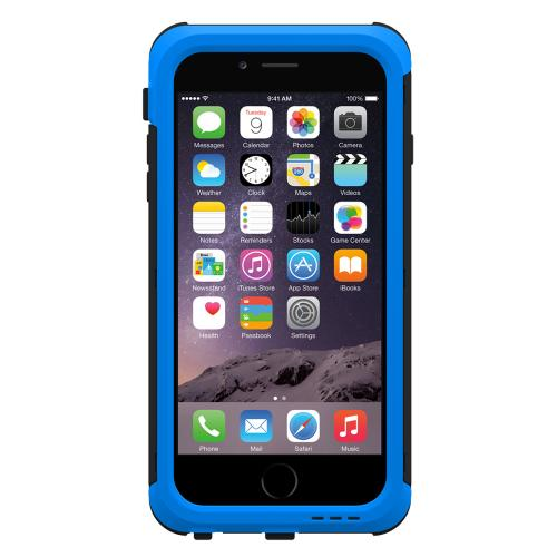 Apple iPhone 6 PLUS/6S PLUS (5.5 inch) Hybrid Case by Trident [Blue] Cyclops Featuring Fused Polycarbonate & Thermo Poly Elastomer Hybrid Case W/ Built-in Screen Protector