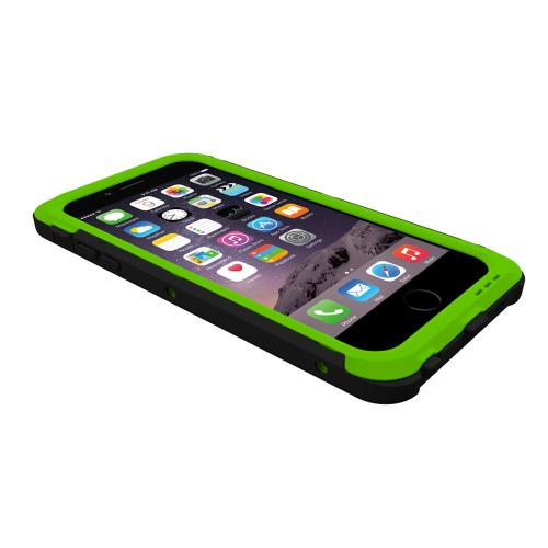 Apple iPhone 6 PLUS/6S PLUS (5.5 inch) Hybrid Case by Trident [Green] Cyclops Featuring Fused Polycarbonate & Thermo Poly Elastomer Hybrid Case W/ Built-in Screen Protector