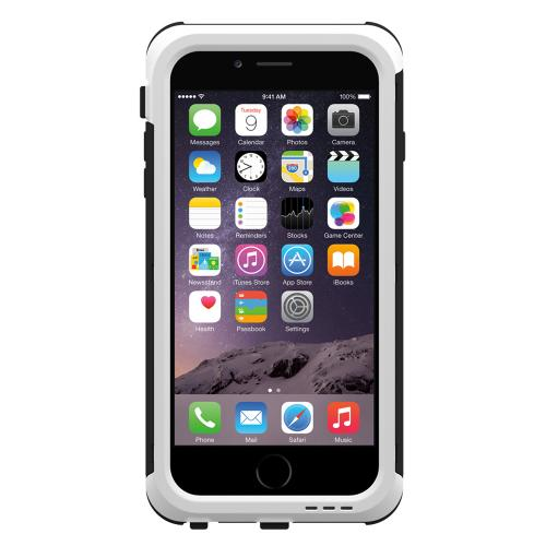 Apple iPhone 6 PLUS/6S PLUS (5.5 inch) Hybrid Case by Trident [White] Cyclops Featuring Fused Polycarbonate & Thermo Poly Elastomer Hybrid Case W/ Built-in Screen Protector