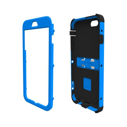 Apple iPhone 6 PLUS/6S PLUS (5.5 inch) Dual Layer Case by Trident [Blue] Kraken AMS Series Rugged Hardened Polycarbonate On Silicone Hybrid Case W/ Built-in Screen Protector