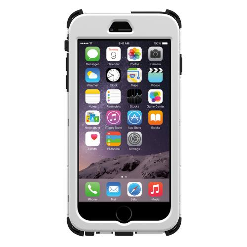 Apple iPhone 6 PLUS/6S PLUS (5.5 inch) Dual Layer Case by Trident [White] Kraken AMS Series Rugged Hardened Polycarbonate On Silicone Hybrid Case W/ Built-in Screen Protector