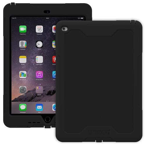 iPad Air 2 Case, Trident [Black] Cyclops Series Slim & Rugged Dual Layer Bumper Hybrid Case w/ Built-in Screen Protector for Apple iPad Air 2