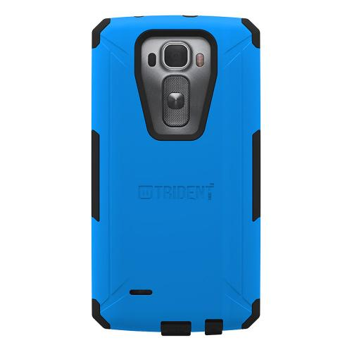 G Flex 2 Dual Layer Case by Trident [Blue/Black] Aegis Series Featuring Slim & Rugged Hard Case Over Silicone Skin Hybrid Case W/ Screen Protector